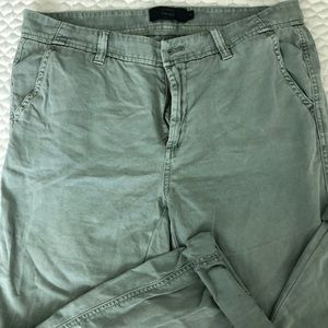 JCrew Chino cargo cropped pants